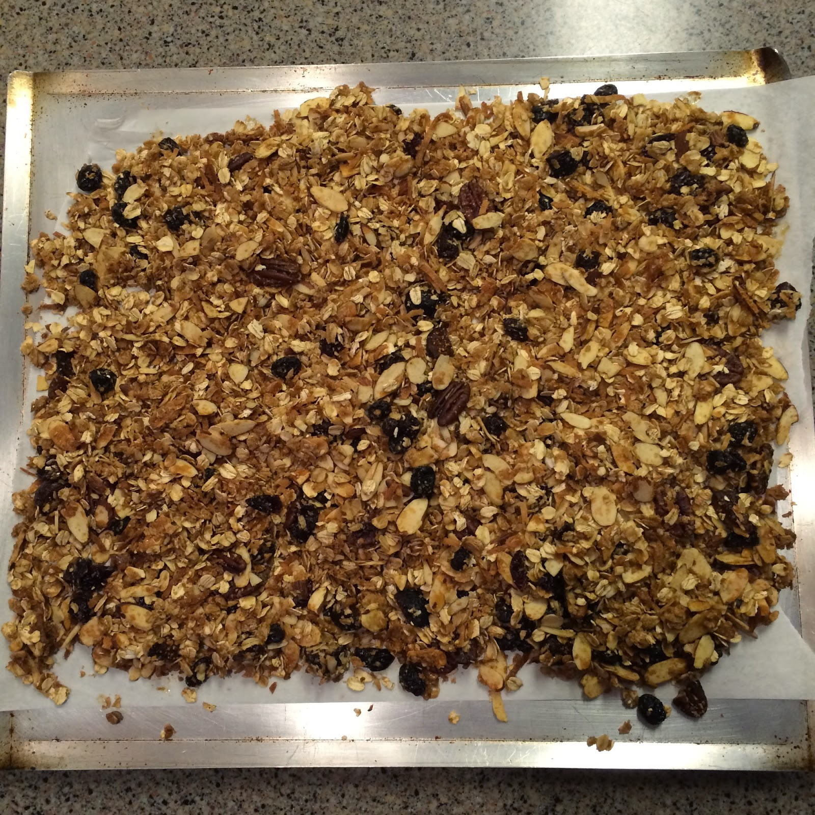 Coconut Granola, Project Soiree, Snack