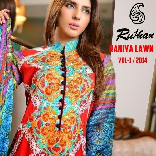 Raniya Lawn 2014 Vol-1
