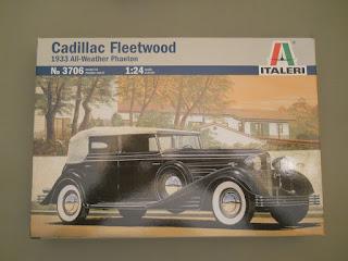 maqueta a escala de cadillac leetwood de 1933