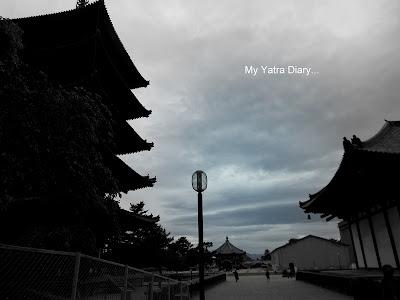 Overview of the Kofuku-ji temple grounds