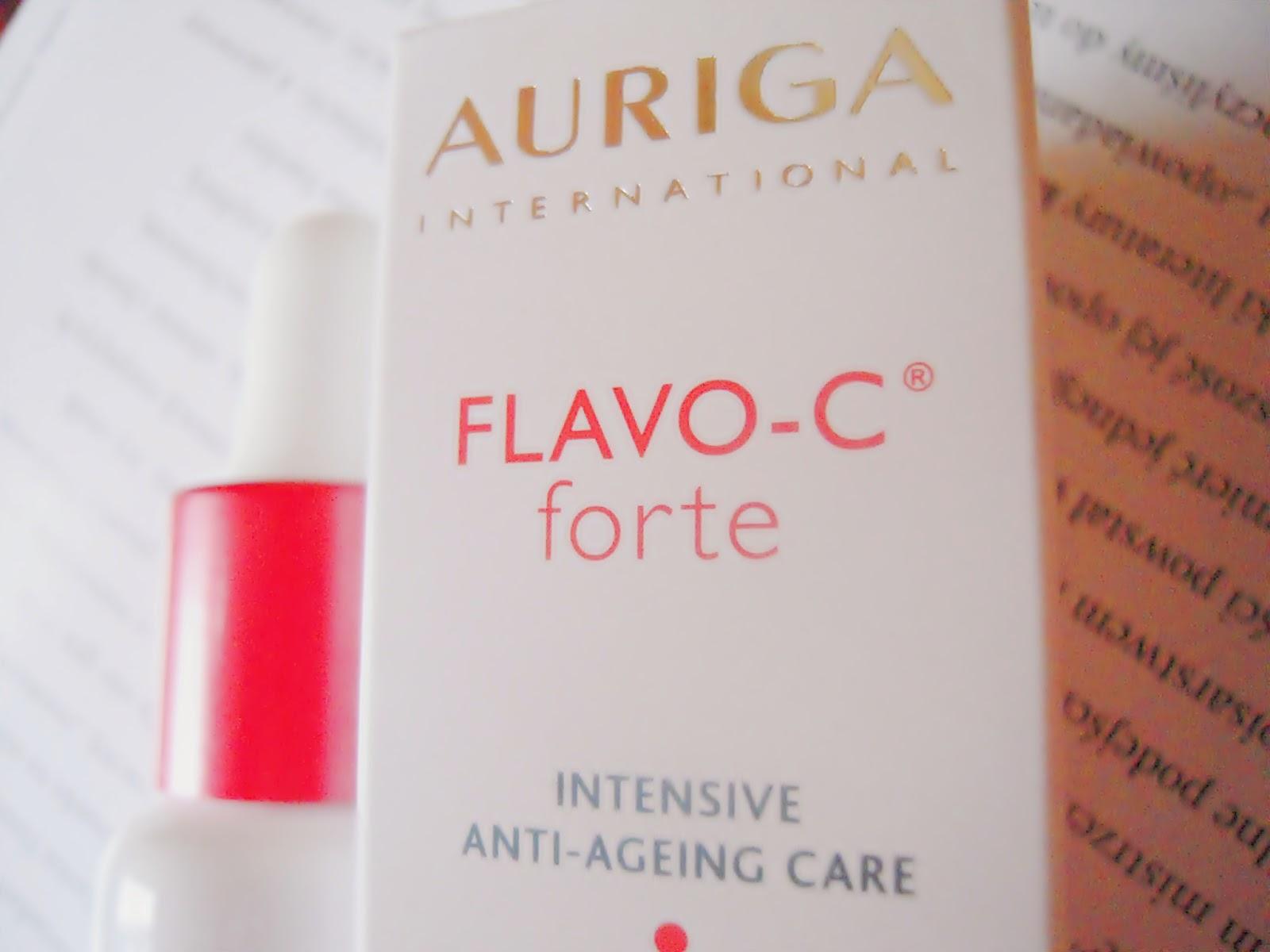 serum z witaminą C, Auriga, pielegnacja przeciwzamarszczkowa,serum na przebarwienia,FlavoC