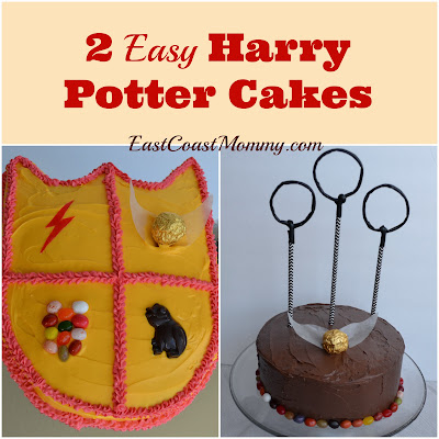 The first cake was a simple