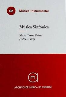 Compositora María Teresa Prieto