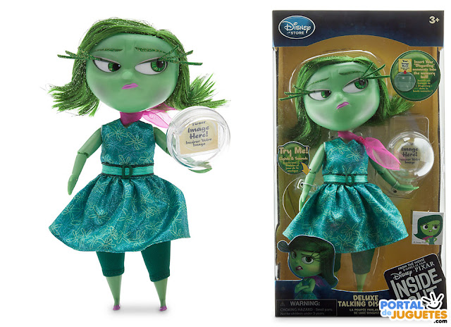muñeca asco del reves inside out disney store