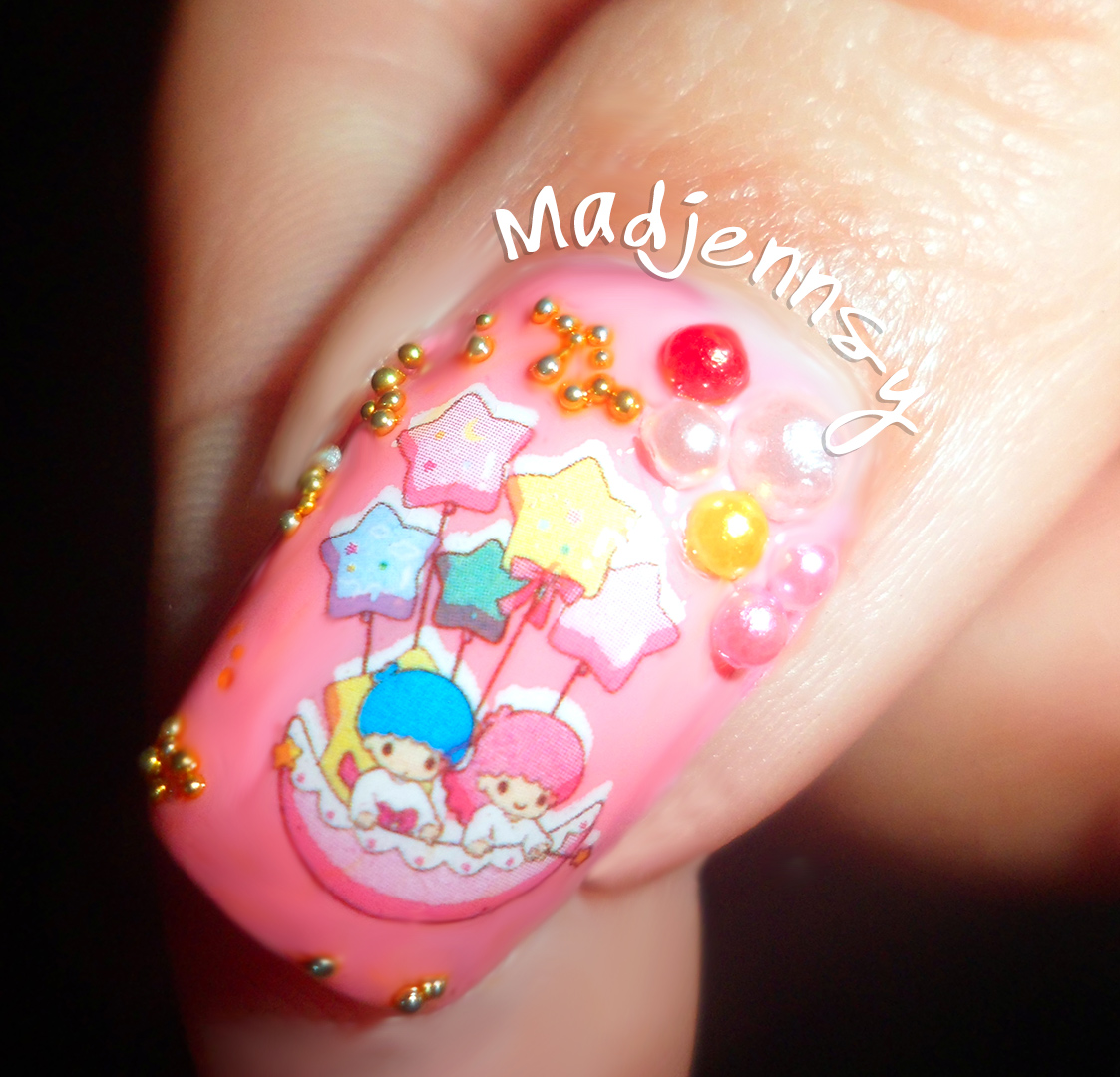 Little Twin Stars Japanese Style Nails - Bornprettystore.com Review ...