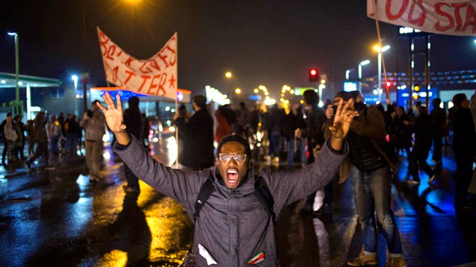 Ferguson in Flames, Ferguson riot, Ferguson burning