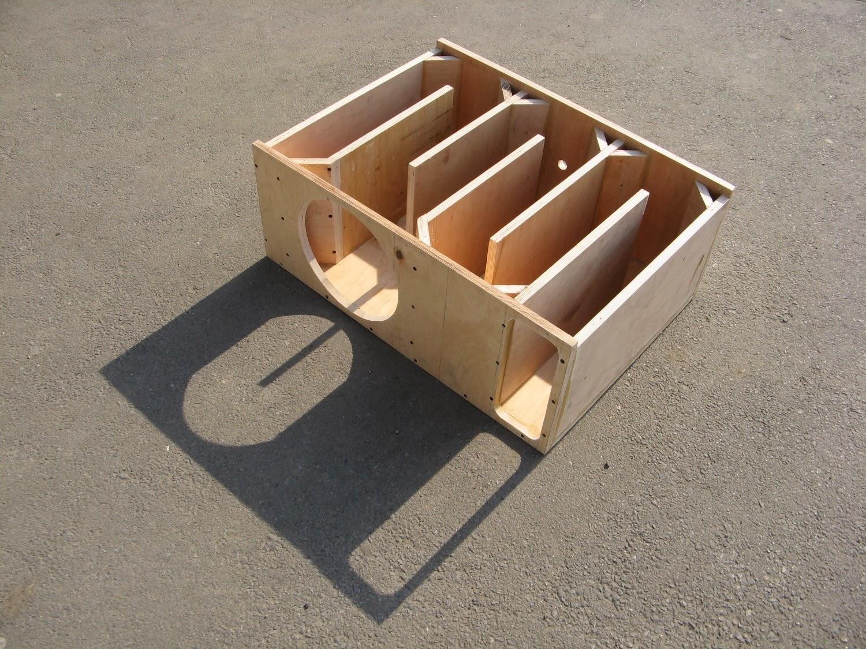 Как сделать рупорный короб под сабвуфер