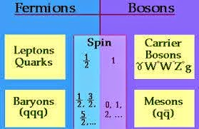 Fermions and Bosons