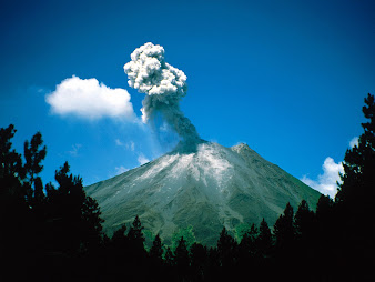 #1 Volcano Wallpaper