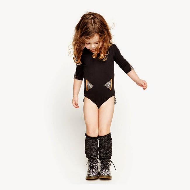 Good Boy Friday: Bum Ruffle leotard for spring/summer 2014 kidswear collection