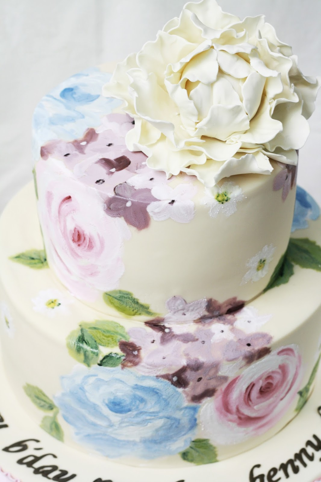 Peony Cake Decorating Rollers
