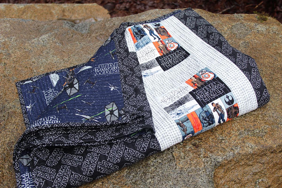Fort Worth Fabric Studio: Star Wars Quilt {Free Pattern}