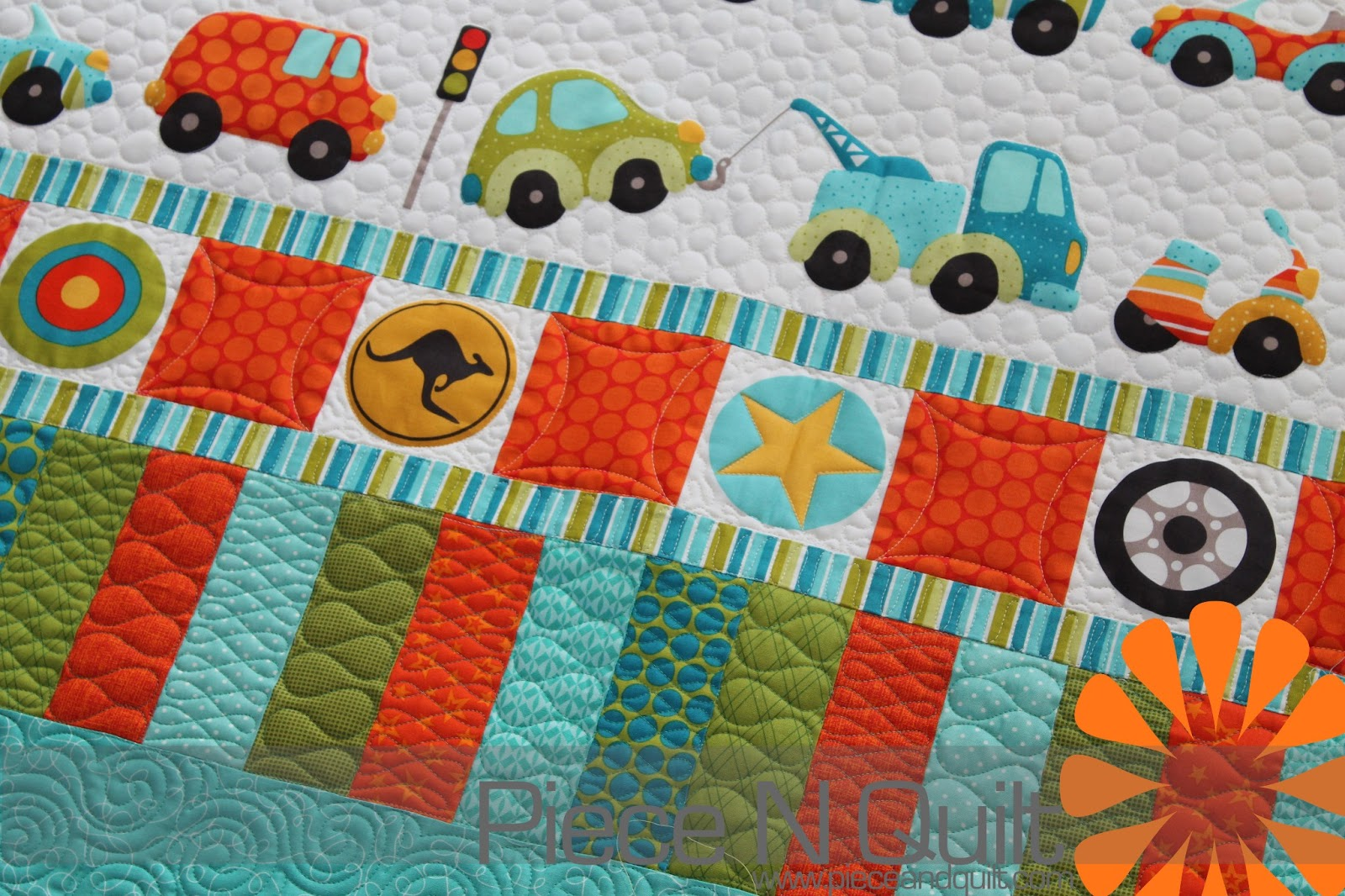 Piece N Quilt: Car Quilt - Little Boy Quilt : boy quilt pattern - Adamdwight.com