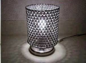 Unique lamp shade from Soda Can Tabs