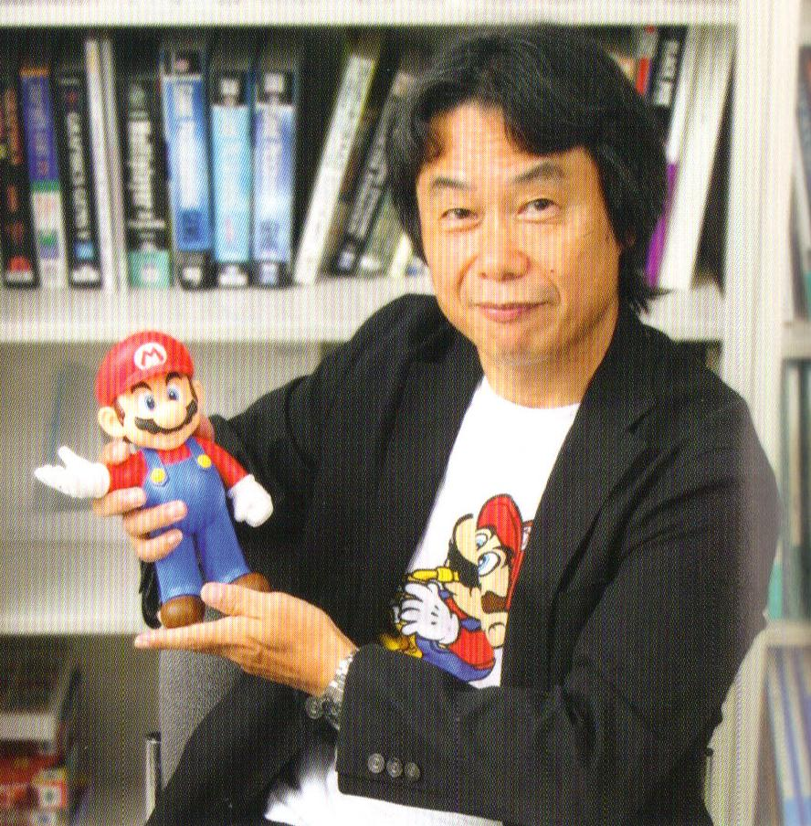 shigeru miyamoto Shigeru miyamoto (宮本 茂, miyamoto shigeru), born november 16, 1952, sonobe, kyoto) is a japanese video game designer and creator of many of nintendo's flagship franchise characters, such as mario, luigi, princess peach, bowser, donkey kong, link, zelda, ganondorf, fox, falco, captain falcon, olimar, and other nintendo icons he is known by many as the father of modern gaming, and is often.