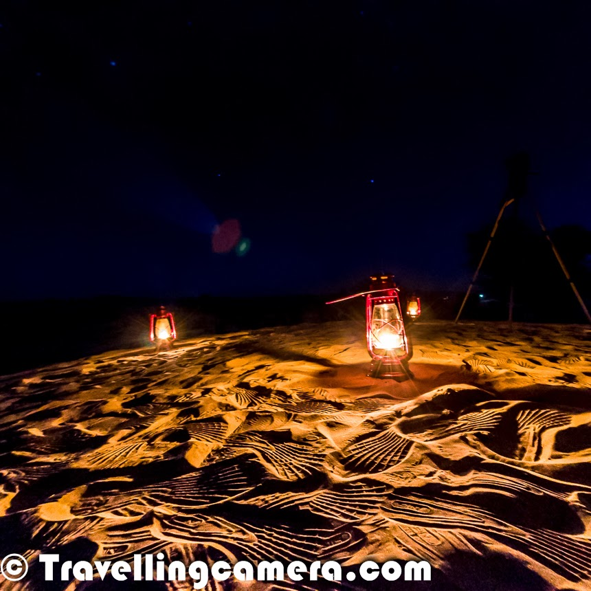 Got To Our Shooting Area Before Most Of: A Unique Experience Of Desert Bonfire In Churu Region Of