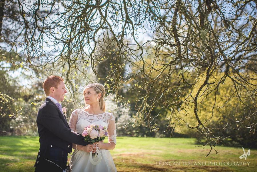 Auchen Castle Wedding Photography