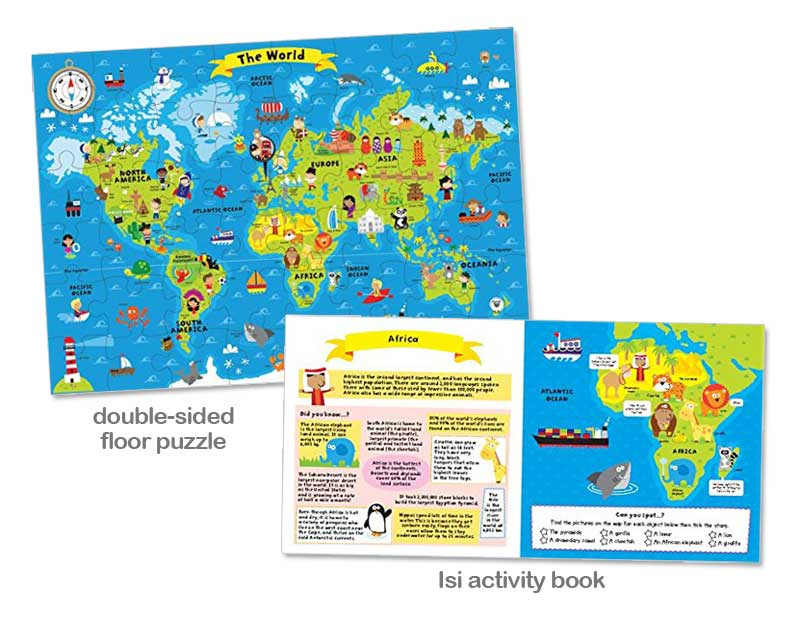 Planet bayi world map book and jigsaw puzzle 139k world map book and jigsaw puzzle 139k gumiabroncs Image collections