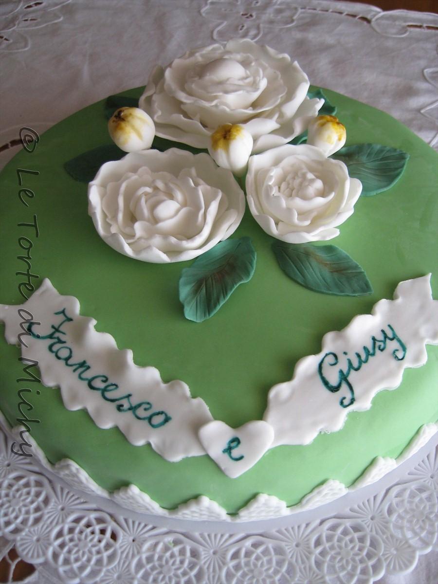 abbastanza Torta Promessa Matrimonio Peonie – Le Torte di Michy RL54
