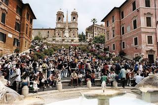 Spanish Steps, rome, Piazza di Spagna