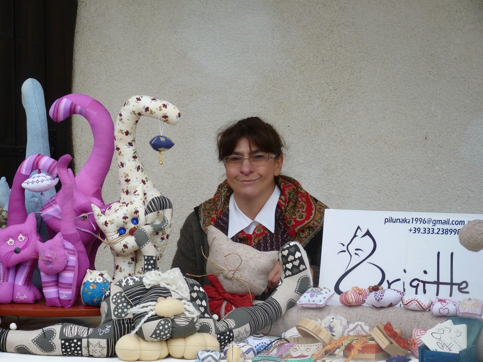 44 gatti di stoffa mercatini e gatti for Cucito creativo gatti