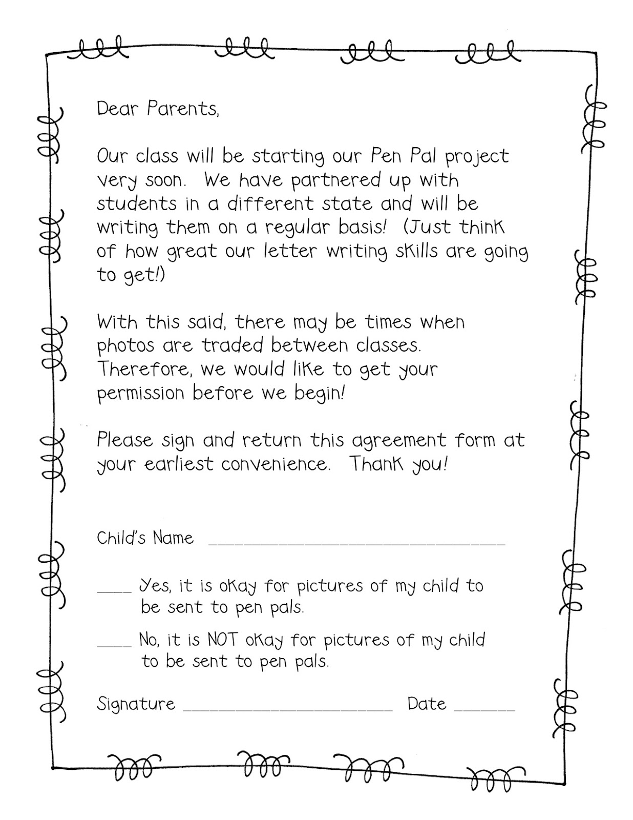 cover letter for after school program