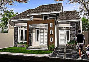 Desain Eksterior Rumah Minimalis 1 Lantai   Desain  Interior