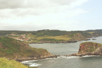 Castrillón, vista de la costa occidental del concejo