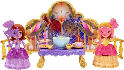 TOYS : JUGUETES - DISNEY La Princesa Sofia | Sofia The First  Fiesta de Máscaras | Masquerade Party  Pack 2 Figuras - Muñecos  Producto Oficial 2015 | Mattel CCW97 | A partir de 3 años  Comprar en Amazon