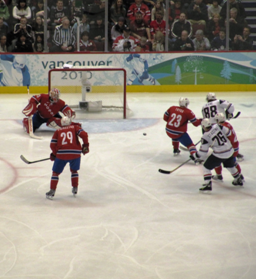 USA goal against Norway (Feb. 18, 2010)