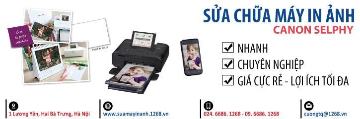 Sửa máy in ảnh Canon Selphy giá chỉ 99k/máy/các lỗi - 09 6686 1268