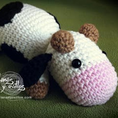 Vaca Lechera Amigurumi : Patrones Amigurumi: Vaca amigurumi