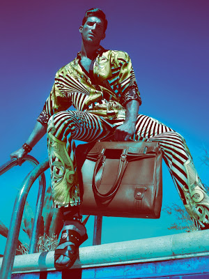 Ryan Barrett by Mert & Marcus for Versace Man Spring 2012-3