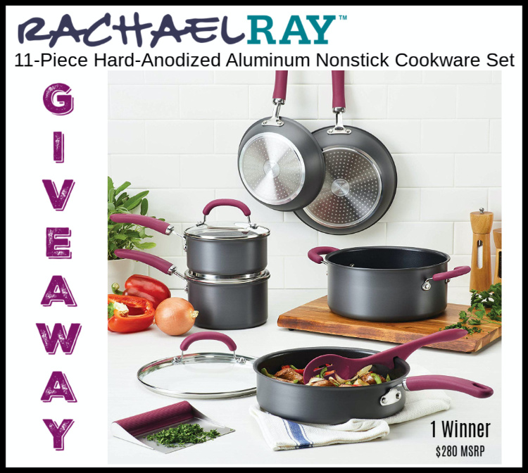 Rachel Ray's Cookware Giveaway