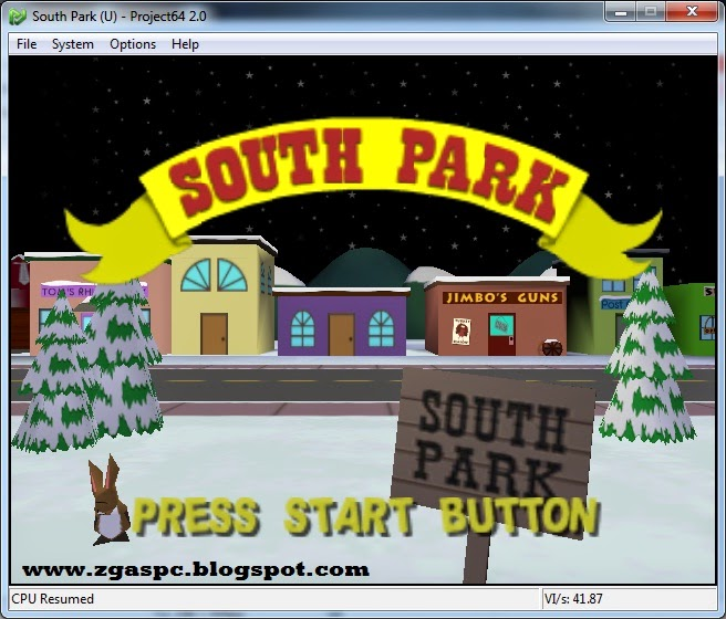 South Park Nitendo 64