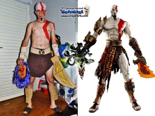Cosplay Kratos God of War