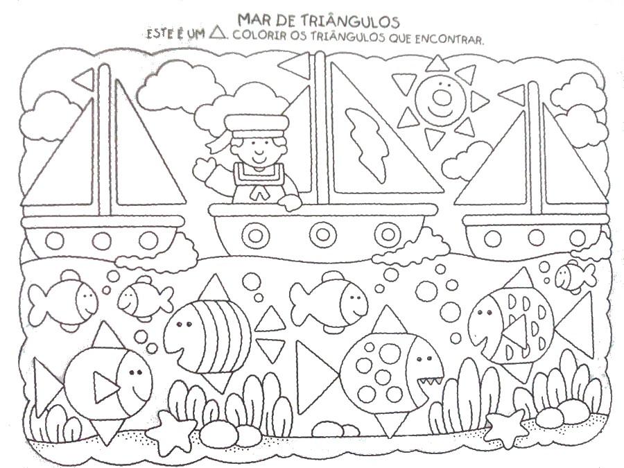As Formas  geométricas ALFABETIZACAO+INFANTIL+DESENHOS+E+ATIVIDADES+913