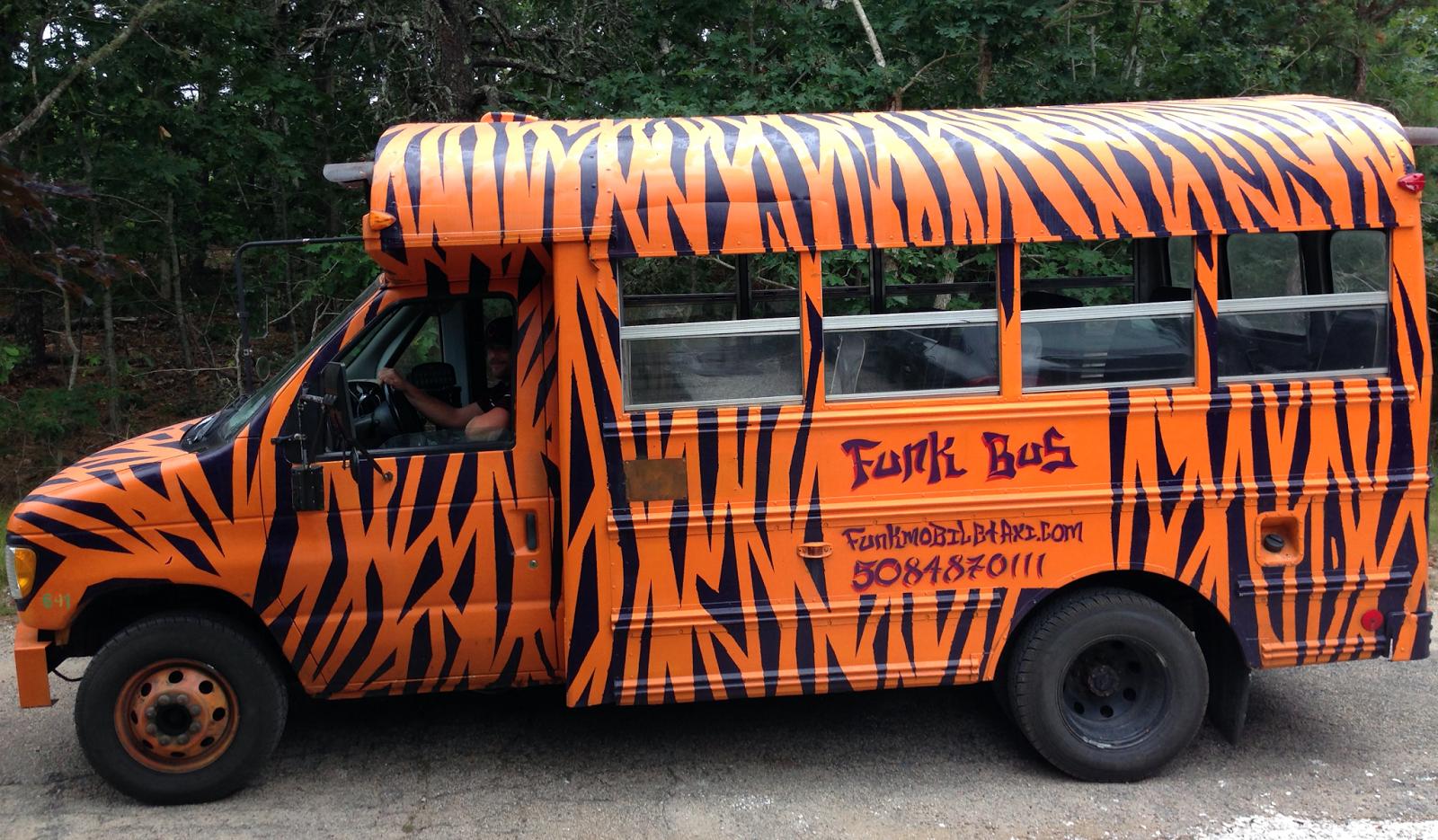 funk bus, cape cod, bachelorette weekend cape cod