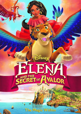 Elena And The Secret Of Avalor (TV) 2016 DVD R1 NTSC Latino