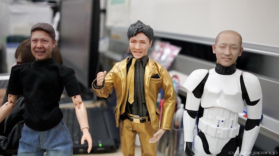 Kilang mainan Jepun cipta anak patung seperti muka pelanggan yang beli