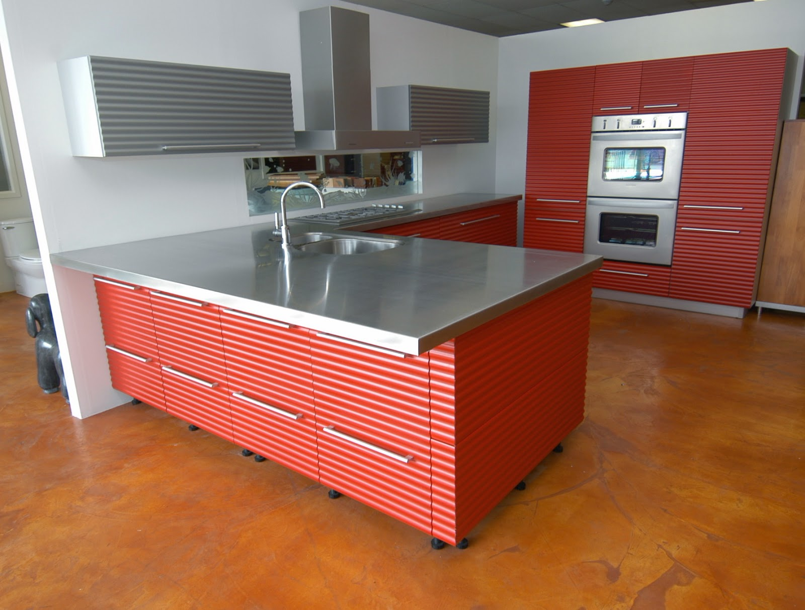 Stainless steel blog for Stainless steel countertop with built in sink