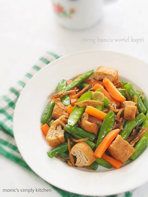resep oseng buncis wortel
