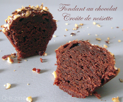fondants chocolat croûte noisettes