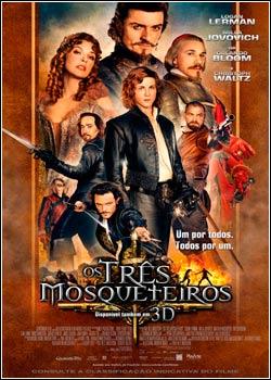 Filme Poster Os Três Mosqueteiros DVDSCR XviD Dual Audio & RMVB Dublado