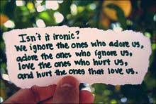 No culpes al amor, son las personas.