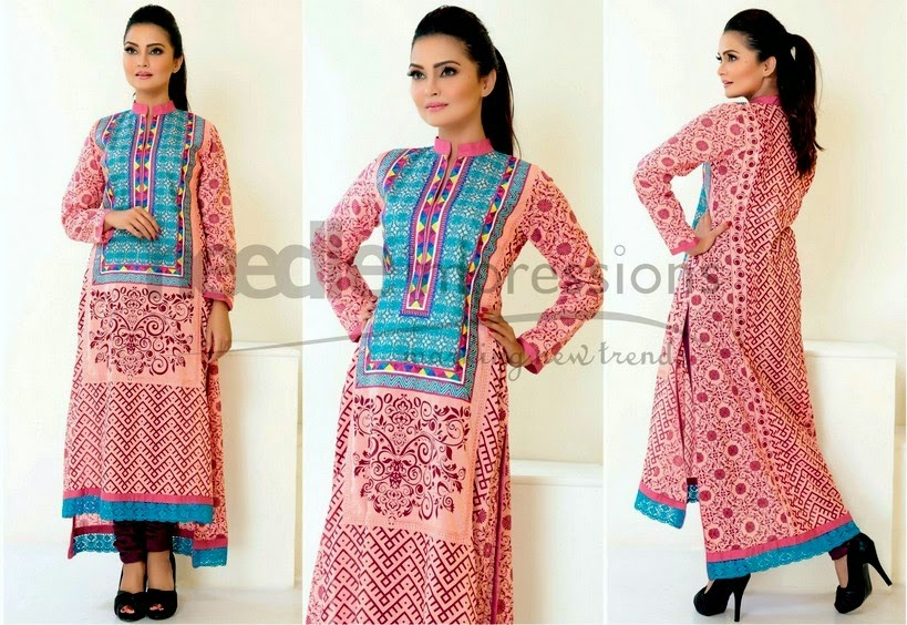 Ready to Wear Lawn Pakistani Dresses