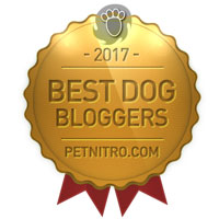 Best Dog Blogger Award 2017