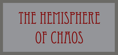 The Hemisphere of Chaos word banner