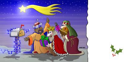 postal reyes magos