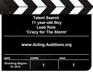 Crazy For The Storm Child Actor Talent Search